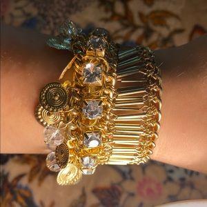 Bohemian Gold bracelet